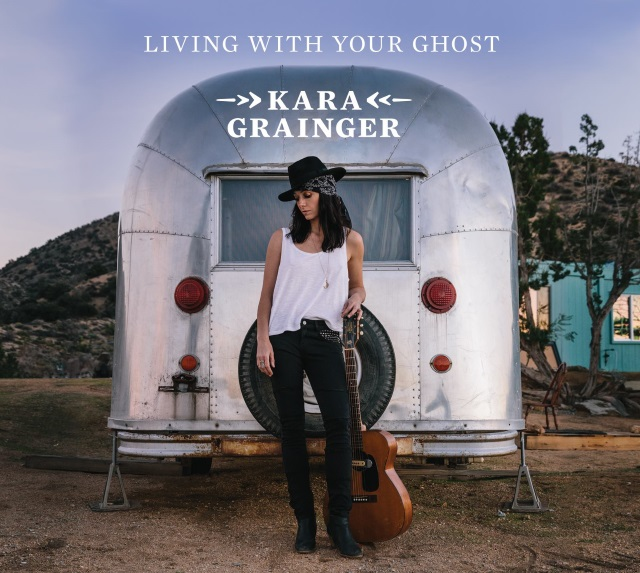 "Kara Grainger's latest CD ""Living with you Ghost"" out on June 1st!"